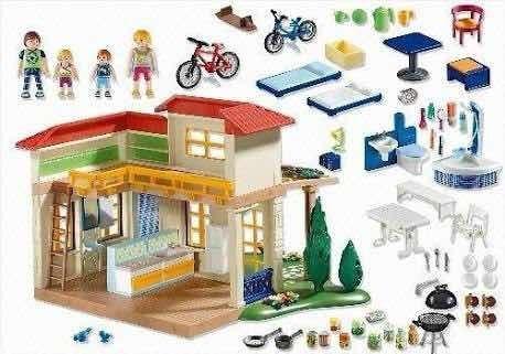 peças Serviço De Peças De Reposição * * Playmobil Casa De Férias 4857