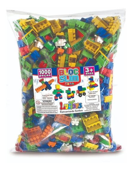 Blocos De Montar C/ 1000 Pçs - Brinquedo Didático