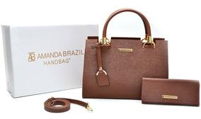 Bolsa + Carteira Amanda Brazil Mod. Lorena
