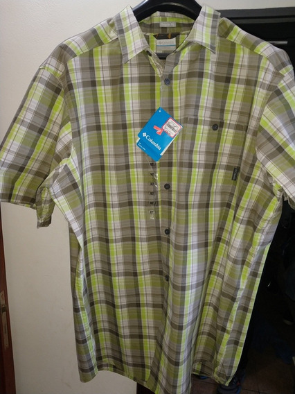 Camisa Mangas Cortas Columbia Nueva