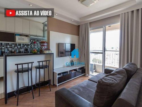 Ap2321 - Apartamento Com 2 Dormitórios À Venda, 48 M² Por R$ 255.000 - Bussocaba - Osasco/sp - Ap2321