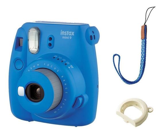Câmera Instantânea Fujifilm Instax Mini Polaroid Modern Azul