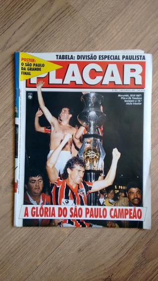 Revista Placar 901 Ano 1987 São Paulo Campeonatos N726