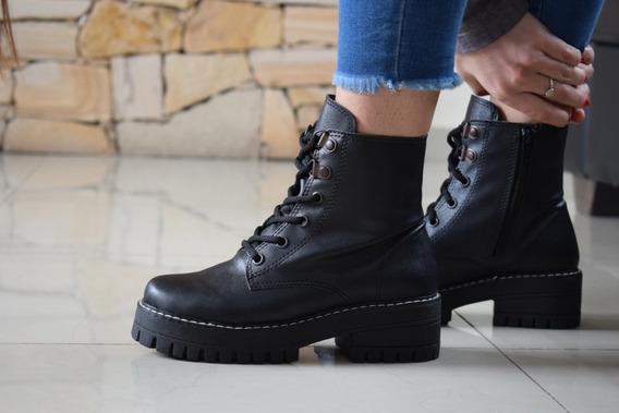 Borcego Bota Zapato Cómodo 100% Cuero Otoño Invierno 2019