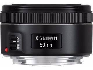Lente Canon Ef 50mm F/1.8 Stm Nuevo C/garantía