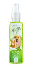 Spray Bucal Pet Clean Sabor Menta Para Cães E Gatos - 120 Ml
