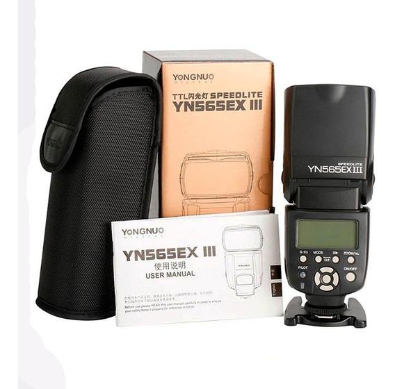Flash Yongnuo Yn565exiii Aumomático Ttl P/ Canon T3 T5i Etc
