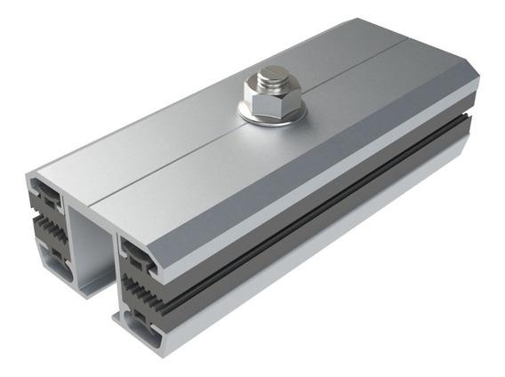 Abrazadera De Unión P/paneles S/marco 120mm