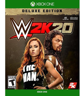 Wwe 20 Deluxe Xbox One Permanente Online Offline Oferta