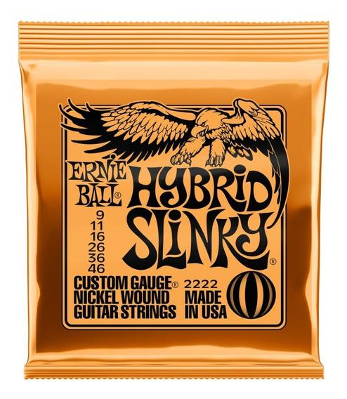 Encordadura Ernie Ball Hybrid Slinky 9-46