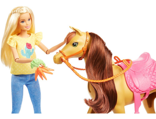 Imagen 1 de 8 de Barbie Familia Chelsea Diversión Caballo