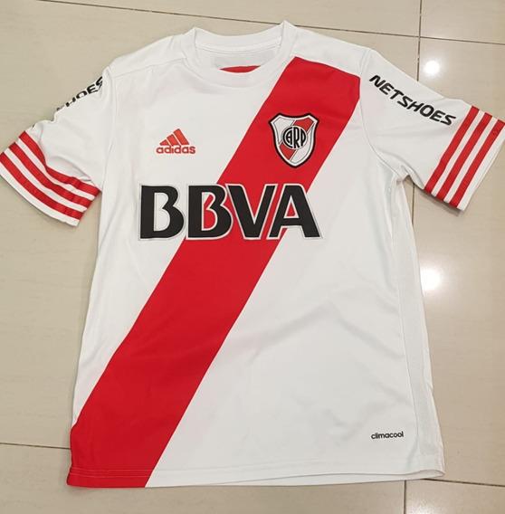 Camiseta River Plate Original 2014-15 Talle 14 Niño adidas
