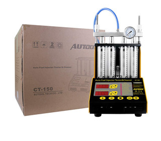 Banco De Prueba Inyectores Autool Ct150 +conectores