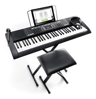 Alesis Melody 61 Mkii Piano, Soporte, Silla, Micrófono