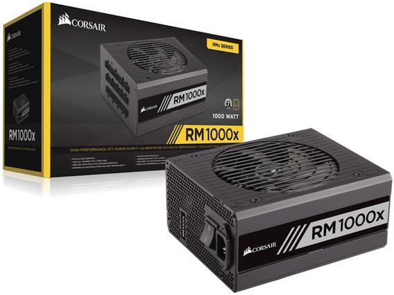 Fonte Corsair Rmx 1000w Gold Pfc 80 Modular Cp-9020094-ww