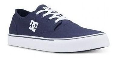 Tênis Dc Shoes New Flash 2 Azul Tx Navy White