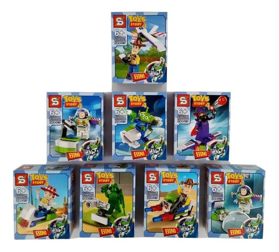 Lego Toy Story 4 - 285+pçs Kit 8 Em 1