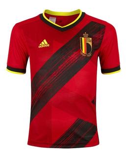 Camisa Nova Bélgica 2020 - 2021 Oficial Super Promoção
