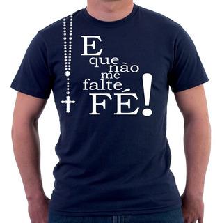 Camisa Camiseta Masculina Feminina Estampareligiosa Catolica