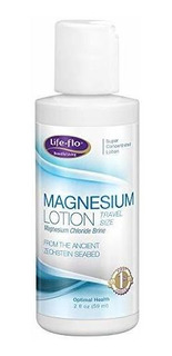 Lifeflo Lociã³n De Magnesio 8 Fl Oz 2 Onza Blanco