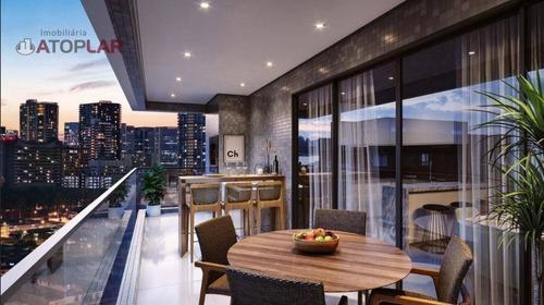 Apartamento À Venda, 121 M² Por R$ 965.040,14 - Meia Praia - Itapema/sc - Ap2012