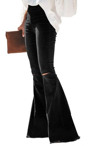 Paitluc Pantalones Vaqueros Clasicos Elasticos Para Mujer Mercado Libre