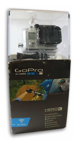 Câmera Gopro Hero 3 Black Edition Nova, Lacrada