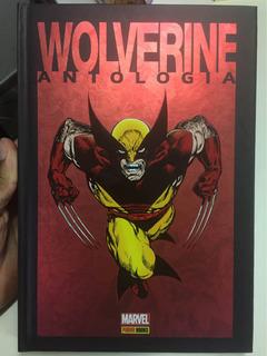 Hq Wolverine Antologia Capa Dura Perfeito Estado