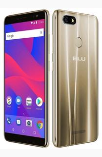 Celular Blu Vivo Xl3 V0250ww 55 Dourado Lte Dual