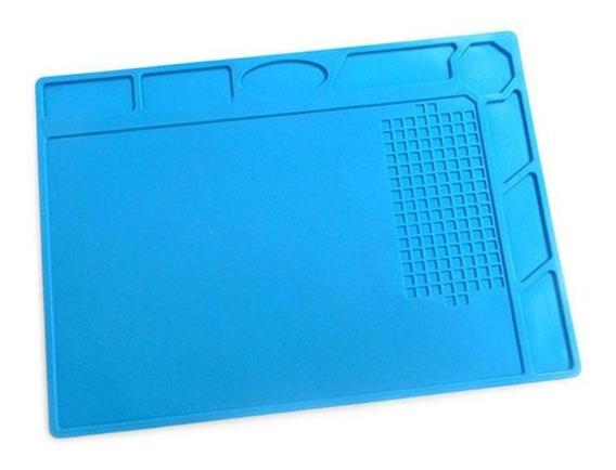 Manta Antiestática Silicone Azul Klte-502 Exbom