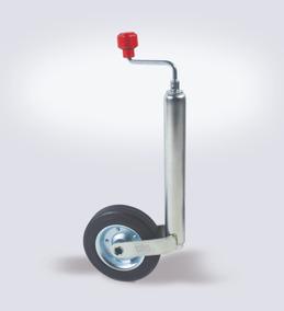 Pedestal Al-ko Com Roda Para Carreta Roda Boba 5ª Roda