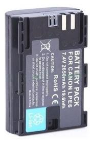 Bateria Lpe6 2650mah Canon 5d 5d2 7d 7d2 6d 60d 70d 80d A
