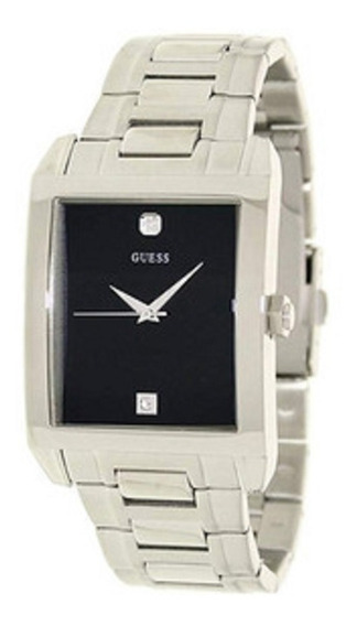Relógio Guess Stainless Steel Diamond Prata