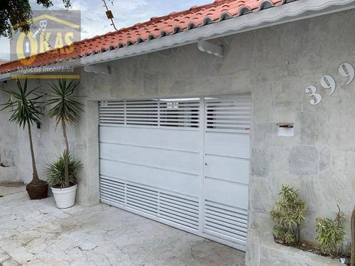 Imagem 1 de 19 de Casa Com 5 Dormitórios À Venda, 400 M² Por R$ 950.000,00 - Vila Suissa - Mogi Das Cruzes/sp - Ca0406