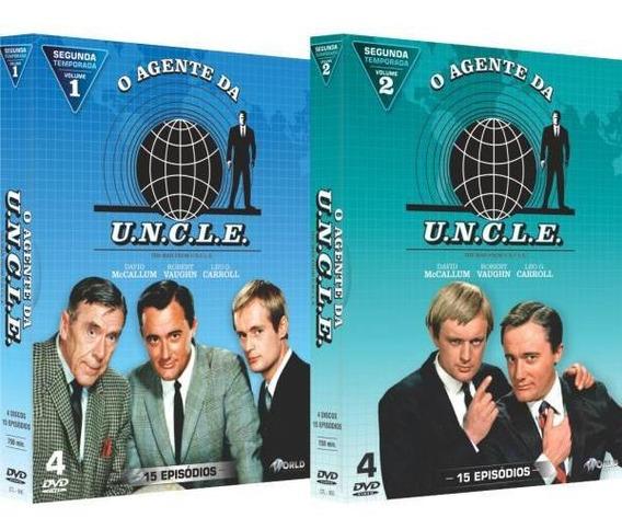 O Agente Da U.n.c.l.e Segunda Temporada Completa 8 Discos