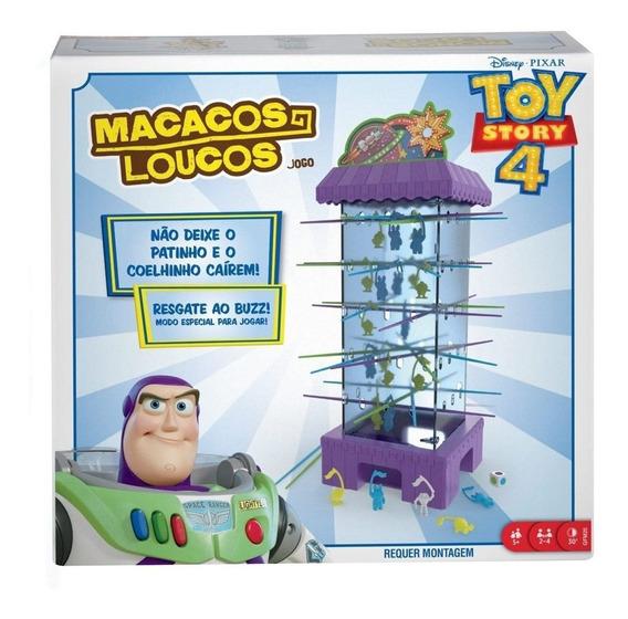 Jogo Disney Toy Story Macacos Loucos Mattel