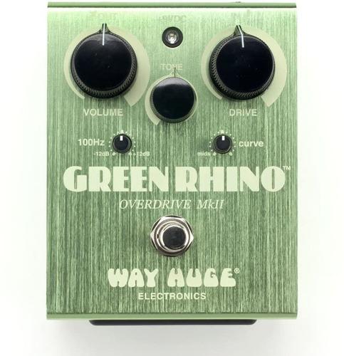 Pedal Dunlop Way Huge Green Rhino Overdrive