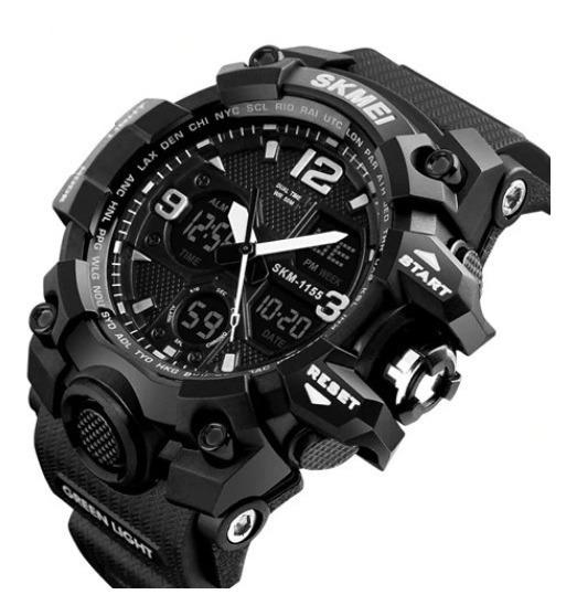 Relógio Masculino Original Skmei Esportivo Shock Natação