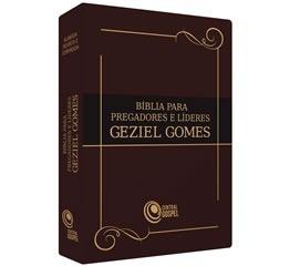 Bíblia Para Pregadores E Líderes - Geziel Gomes - Marrom
