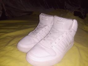 Zapatos adidas Caña Alta Blancos