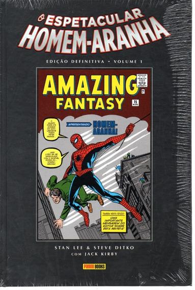 Espetacular Homem-aranha Ed. Definitiva 1 Bonellihq Cx122 I