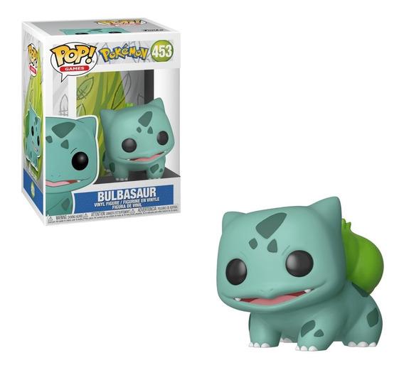 Funko Bulbasaur Pokemon 453 Bulbasauro Pop Games Original