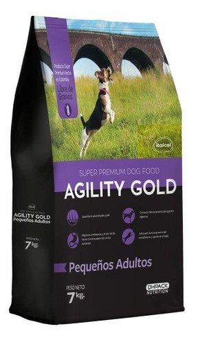 Imagen 1 de 1 de Agility Gold Pequeños Adultos 7 Kg