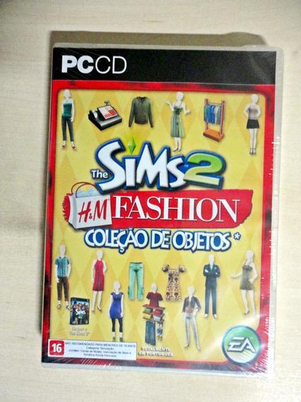The Sims 2 H&m Fashion - Coleção De Objetos [novo - Lacrado]