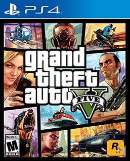 Grand Theft Auto V Gta 5 Ps4, Sellado & Nuevo