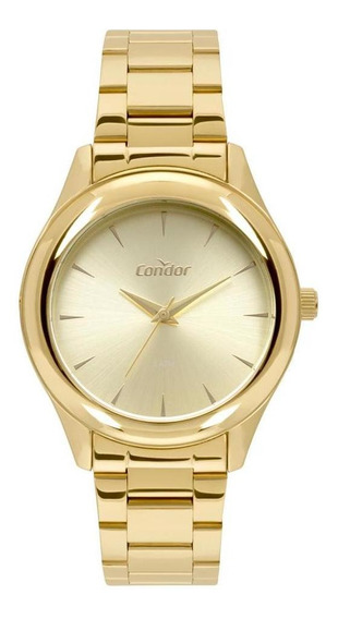 Relógio Feminino Condor Shake Dourado - Original
