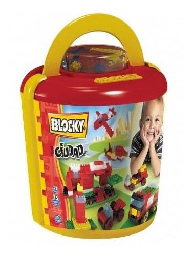 Blocky Balde Ciudad 100 Piezas 01-0628