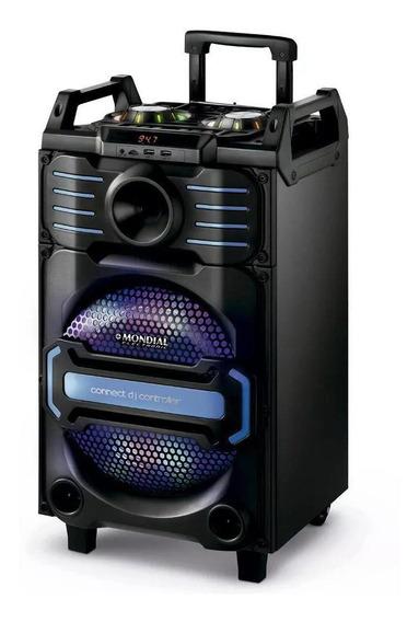 Caixa De Som Amplificada 240w P10 Microfone Violão Guitarra