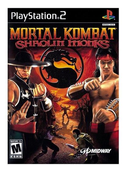 Mortal Kombat Shaolin Monks Ps2 Pkg Ps3 Desbloqueado