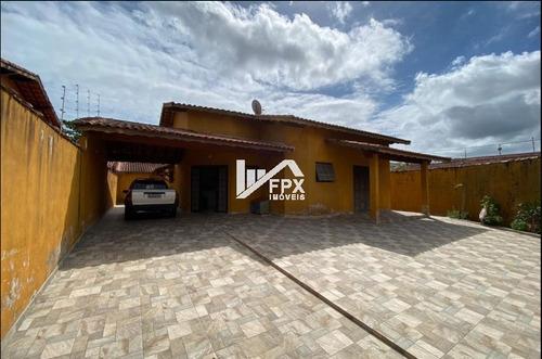 Imagem 1 de 14 de Casa Em Itanhaém, Lado Praia Á 270 Metros Do Mar Ca240-f